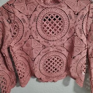 Small lace top